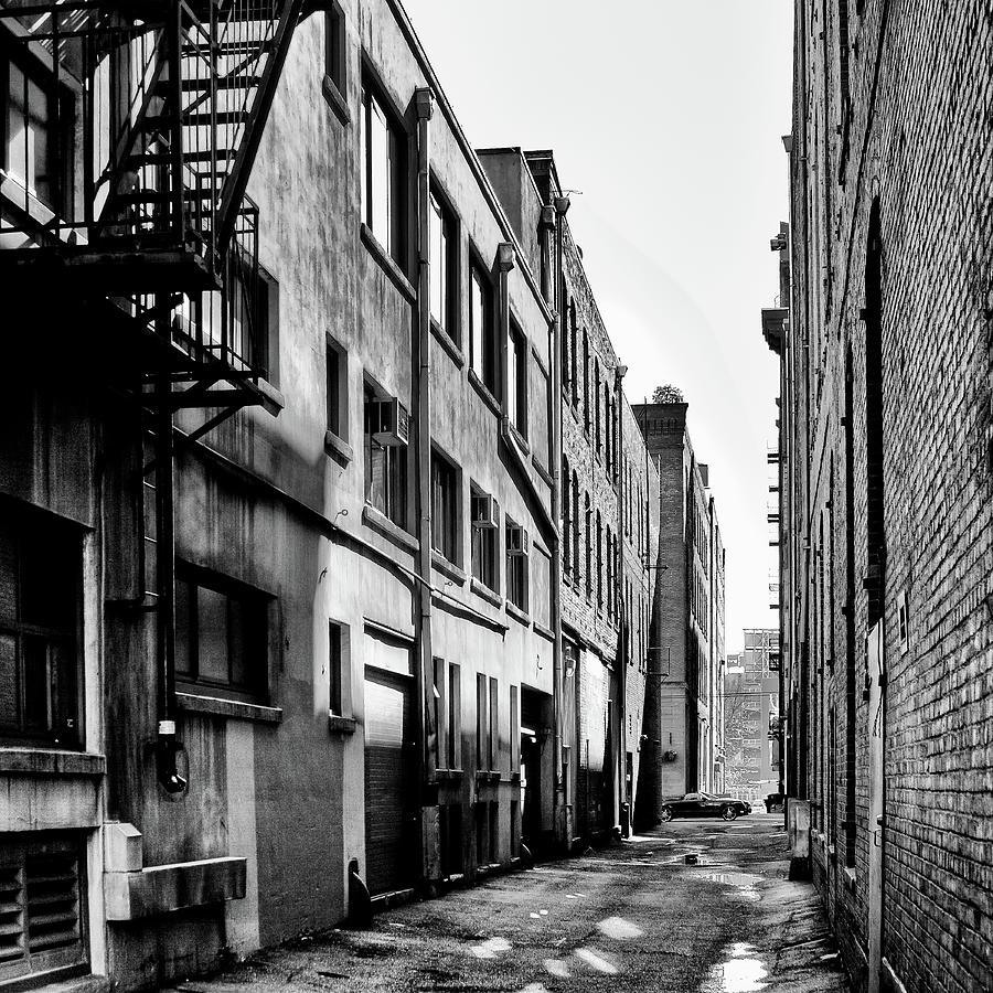 Seattle Alleyway by David Patterson