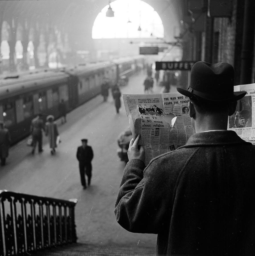 Secret Agent Photograph by Harry Kerr