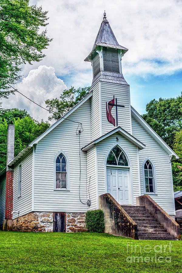 Seebert United Methodist Church by Thomas R Fletcher