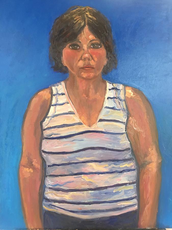 Self portrait  by Beth Riso