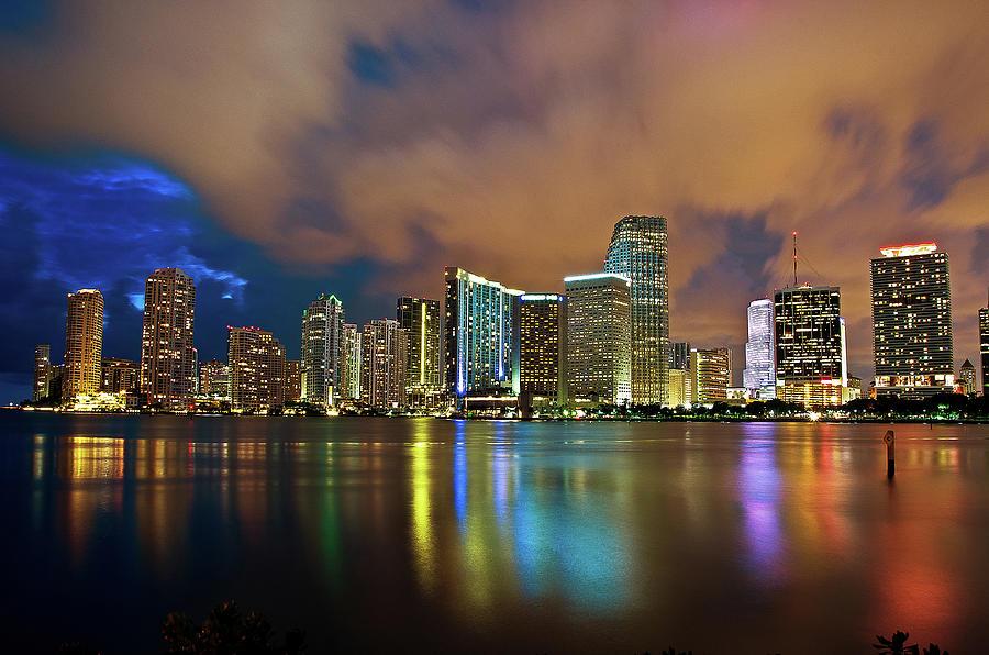 Shining Miami Photograph by Alessandro Giorgi Art Photography