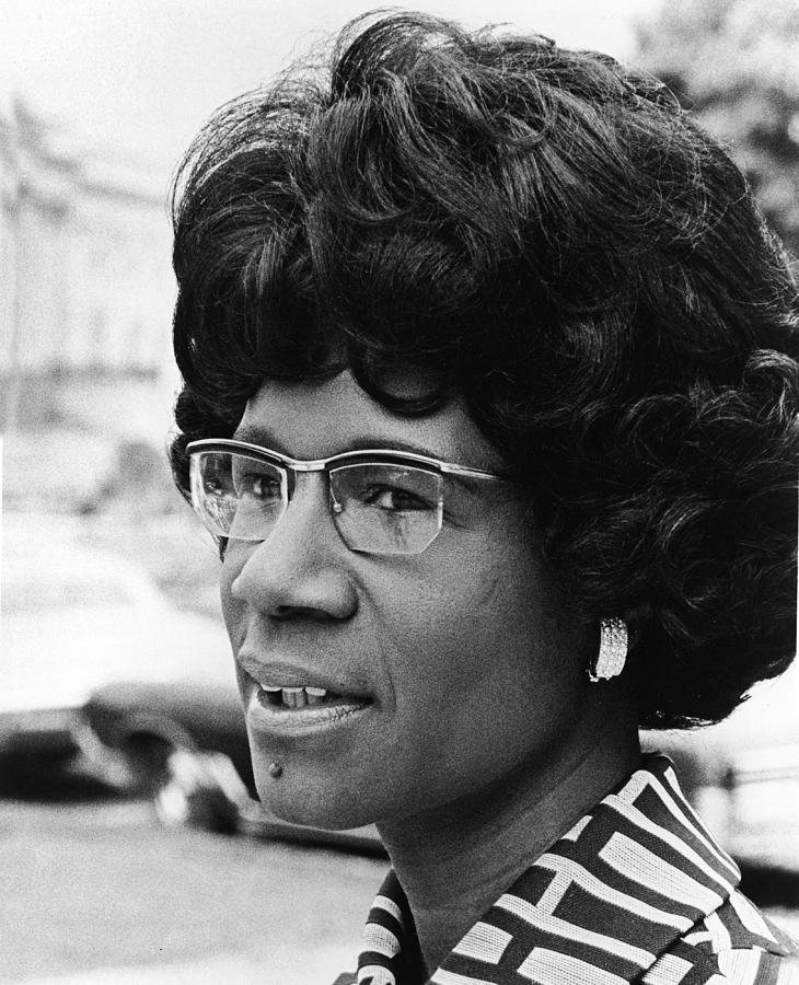 Shirley Chisholm Photograph by Hulton Archive