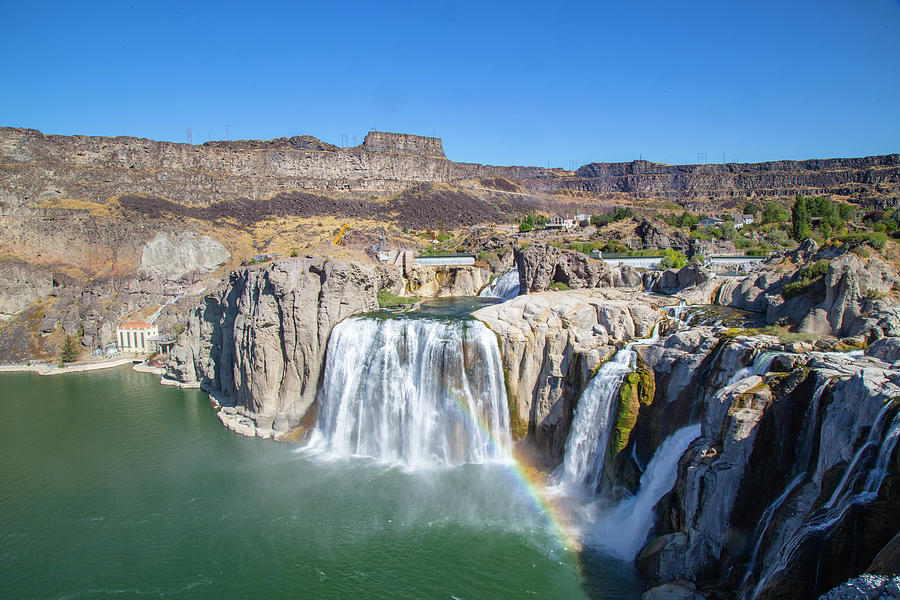Shoshone Falls by Dart Humeston