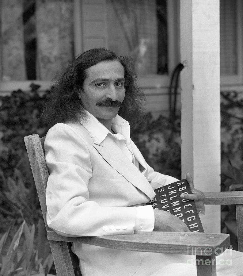 Shri Meher Baba Photograph by Bettmann