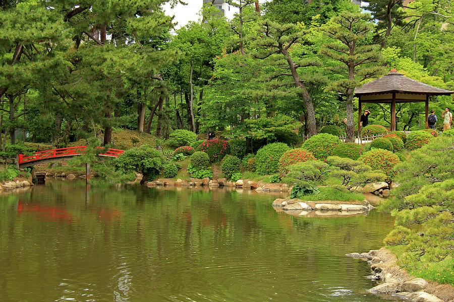 Shukkeien Garden - Hiroshima, Japan by Richard Krebs
