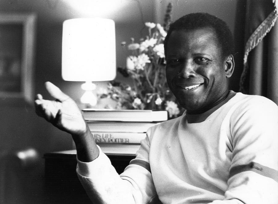 Sidney Poitier Photograph by Evening Standard