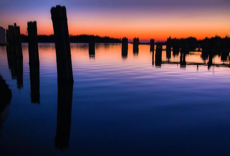 Silver Lake Sunset 2010-10 23 by Jim Dollar