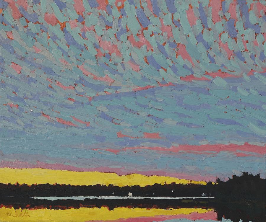 Singleton Sunset Altocumulus by Phil Chadwick