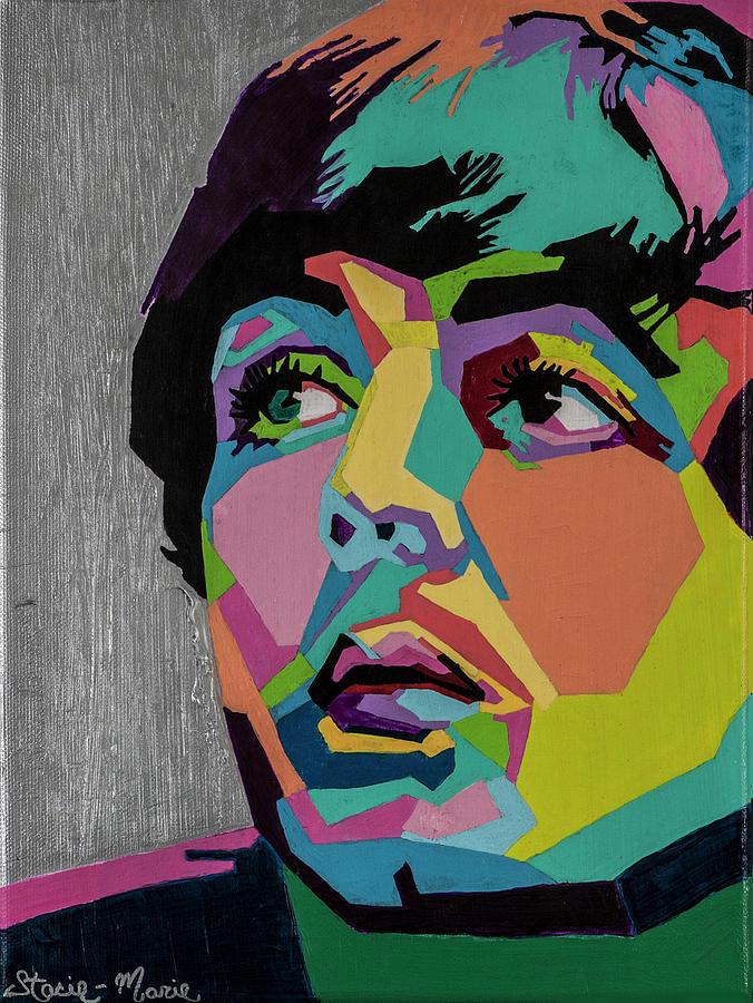 Paul Mccartney Painting - Sir Paul McCartney by Stacie Marie