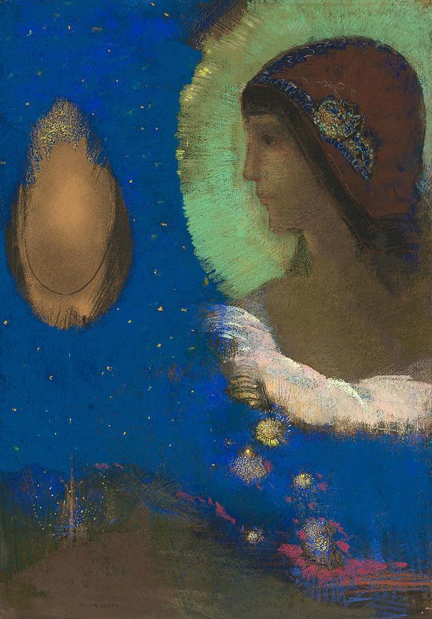 Sita by Odilon Redon