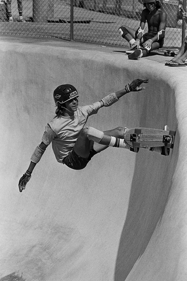 Skateboarding Becomes A Popular Sport Photograph by George Rose