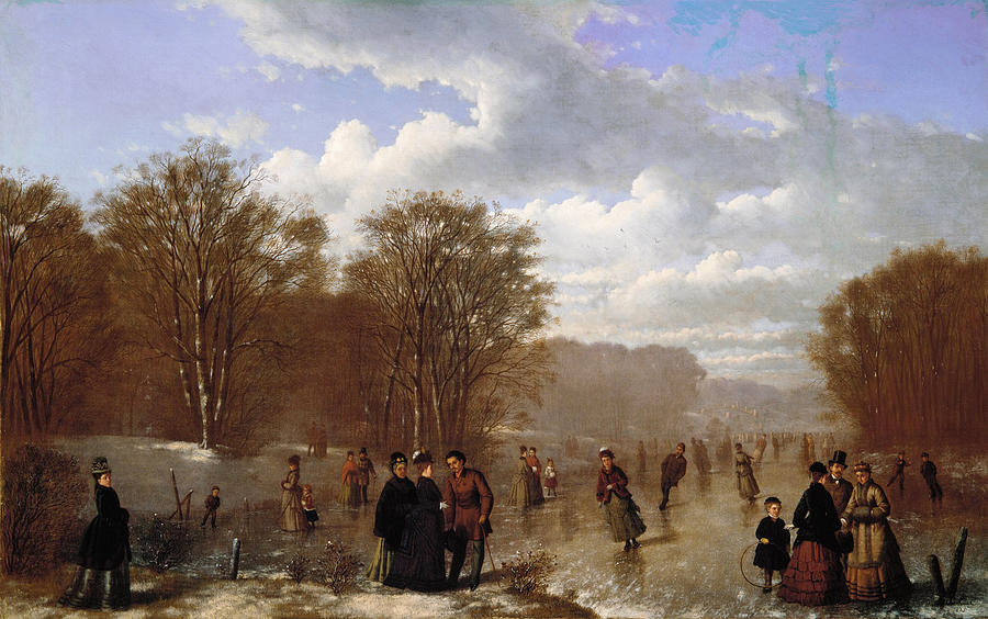 Skating on the Wissahickon by Johan Mengels Culverhouse