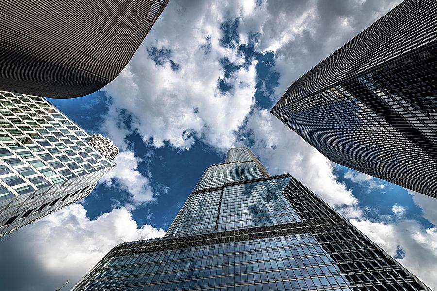 Skyscrapers by Randy Scherkenbach