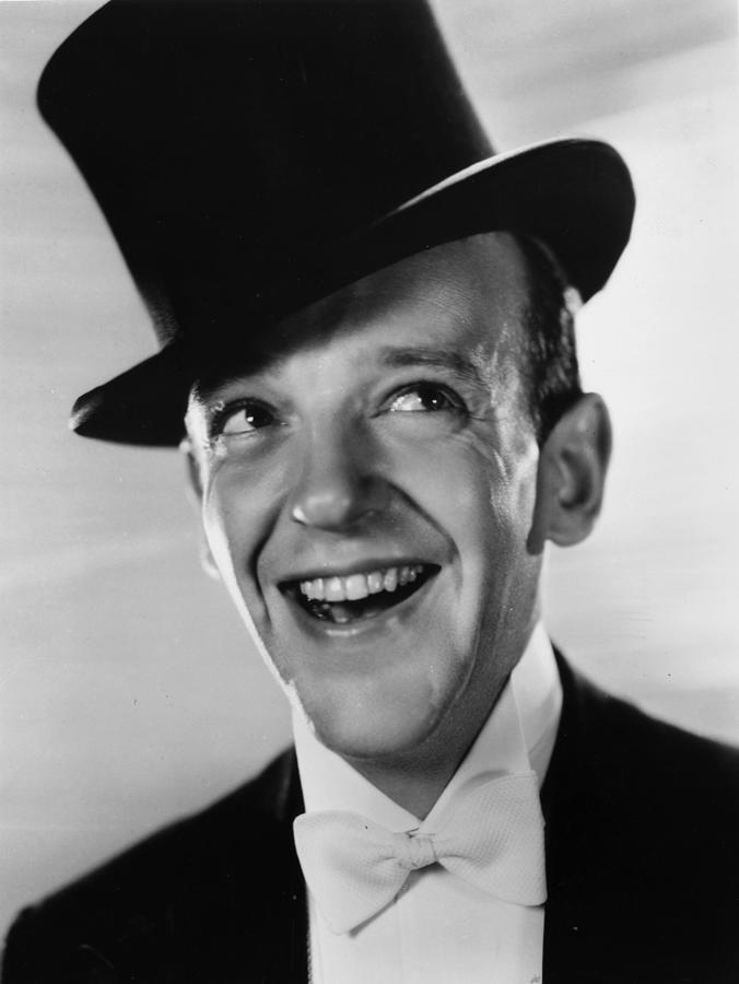 Smiling Astaire Photograph by Sasha
