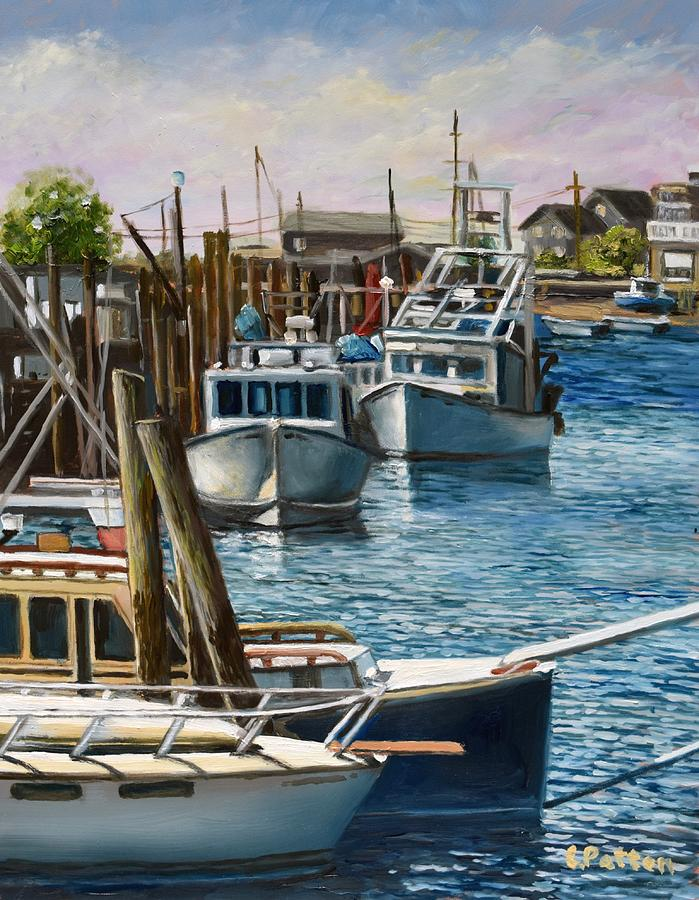 Smith's Cove, Gloucester, MA by Eileen Patten Oliver