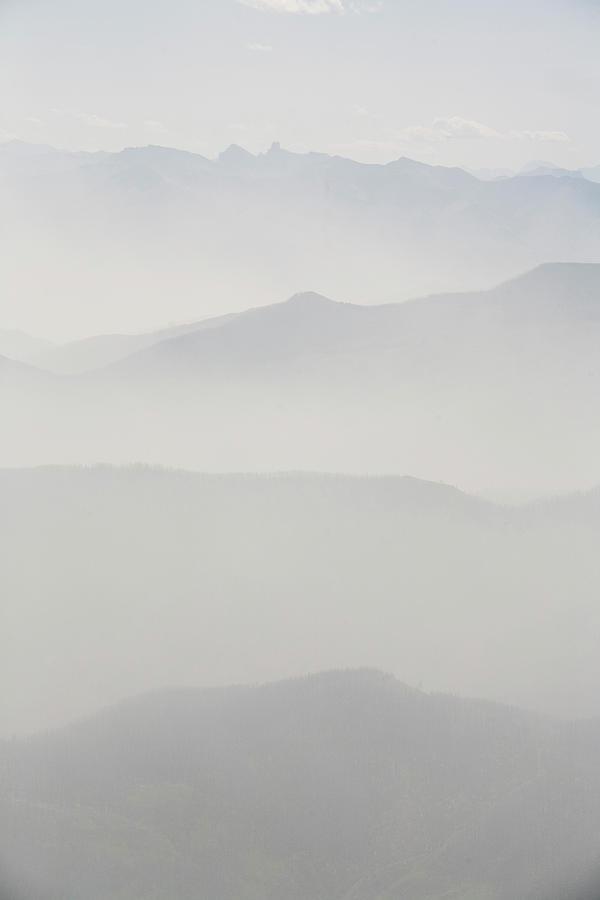 Smoke From Forest Fires In British Photograph by Dan Shugar