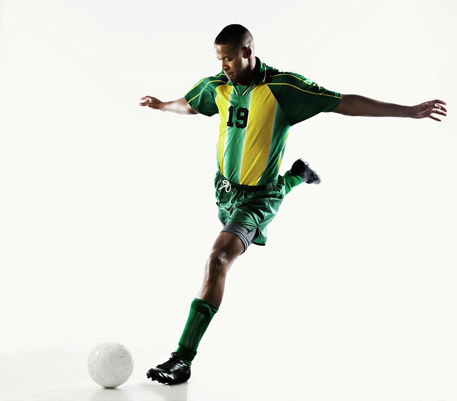 Soccer Player Photograph by Patrik Giardino
