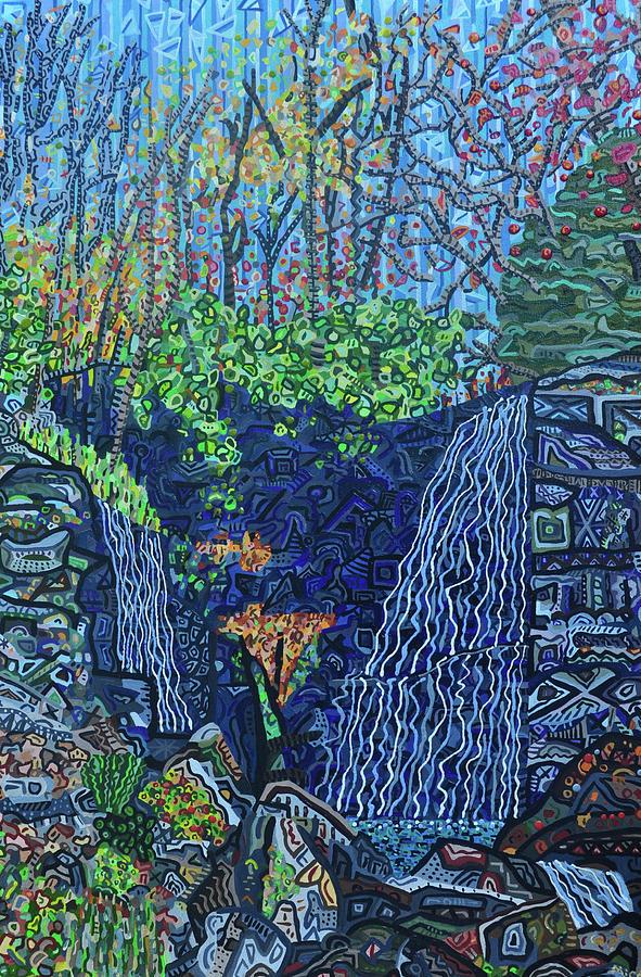 Soco Falls Painting - Soco Falls by Micah Mullen