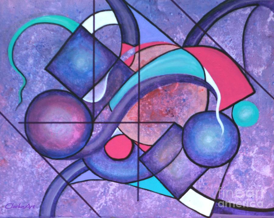 Purple Surreality by Jean Clarke