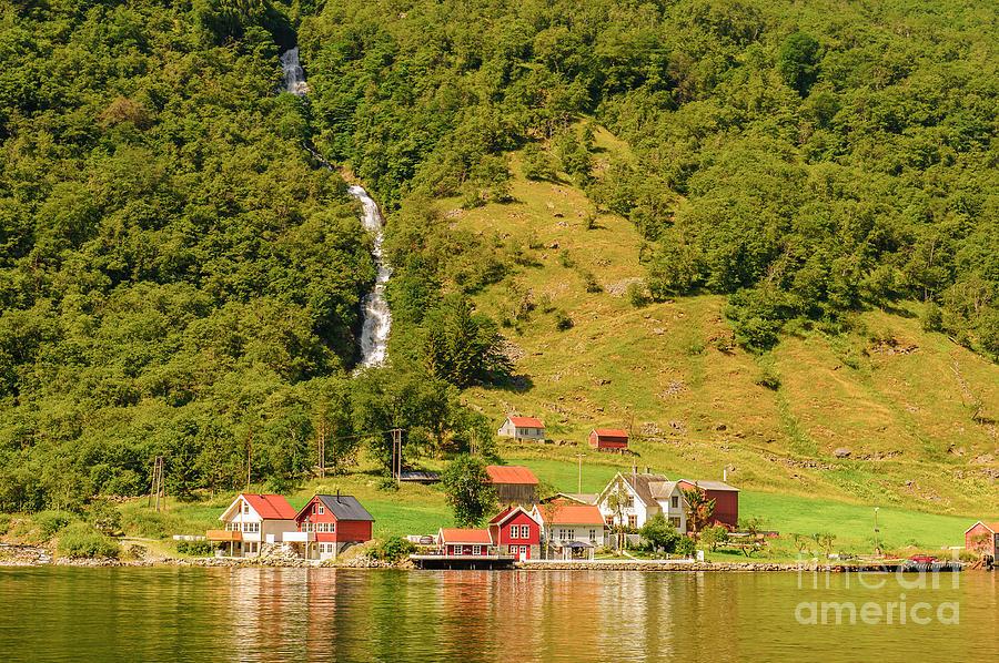 Mirror Photograph - Sognefjord, Norway by Anton ivanov