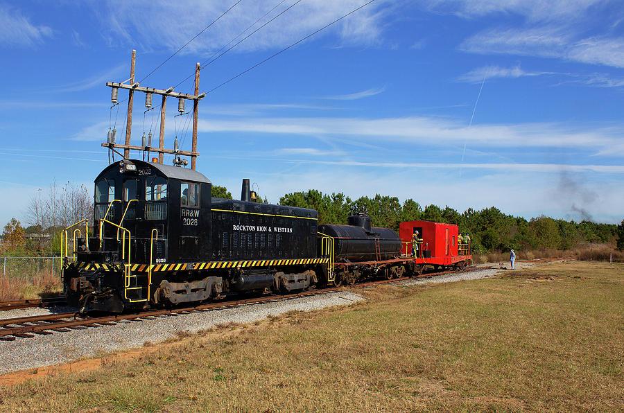 Soith Carolina Railroad Museum 2028 A Color by Joseph C Hinson