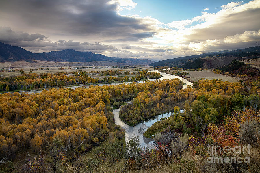 South Fork Autumn by Idaho Scenic Images Linda Lantzy