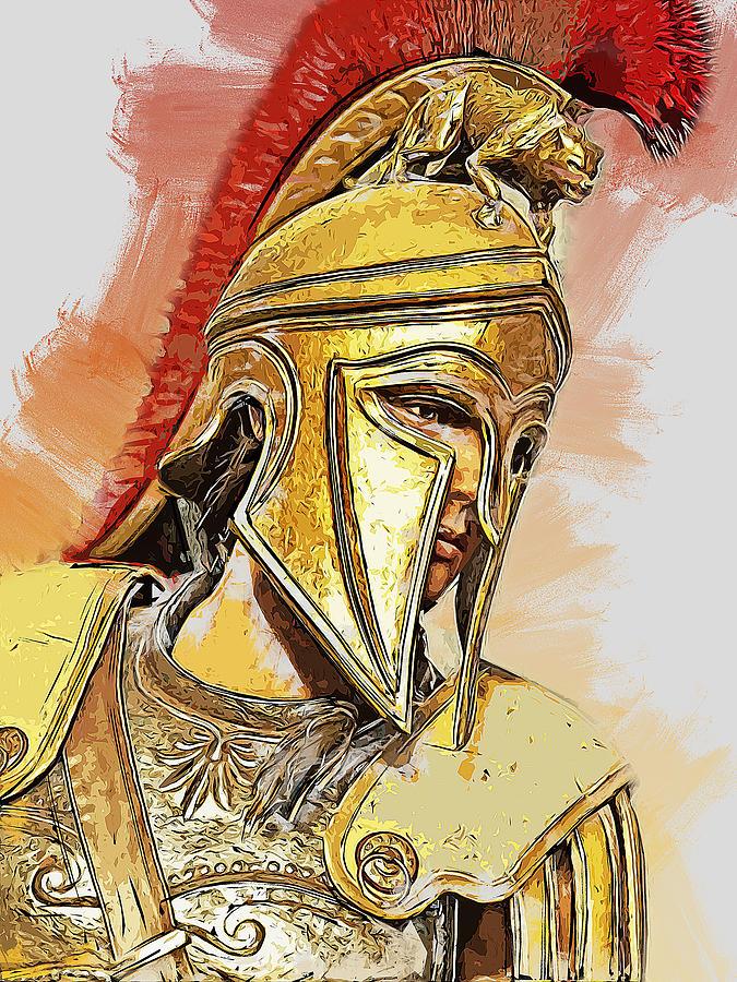 Spartan Hoplite - 51 by Andrea Mazzocchetti