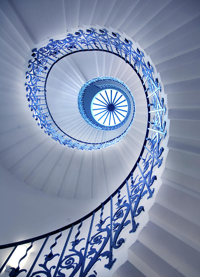 Spiral Staircase Photograph by Grant Faint