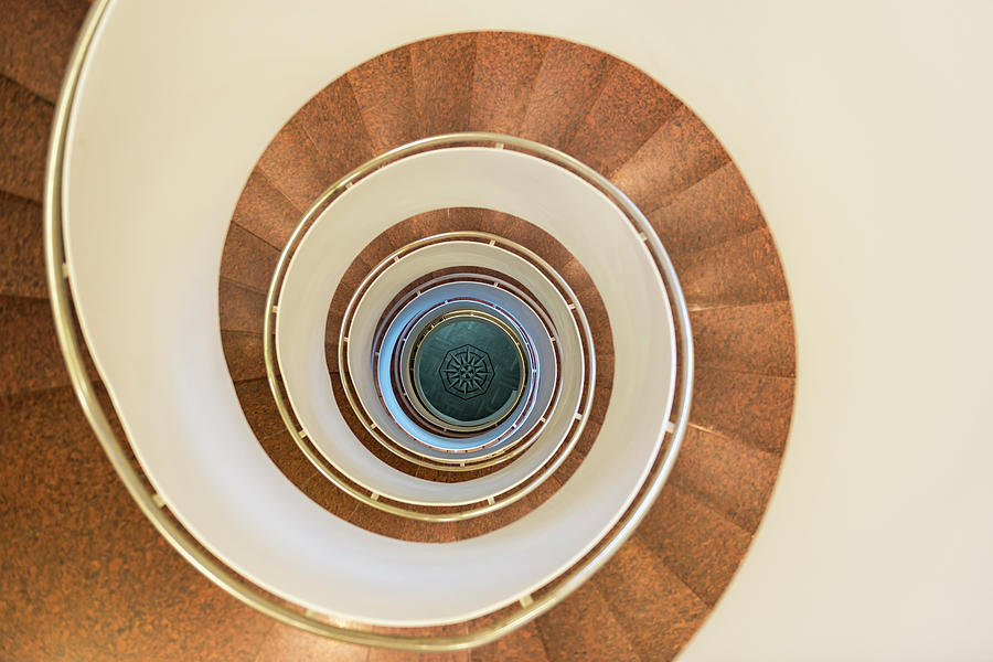 Spiral Staircase Photograph by Martin Wahlborg