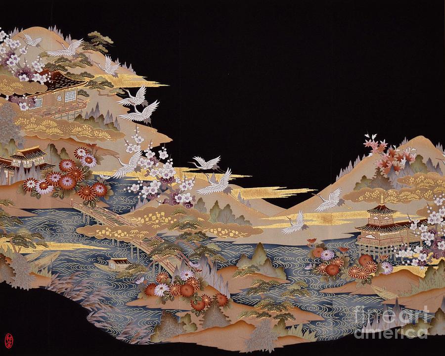 Spirit Of Japan T88 Digital Art by Miho Kanamori