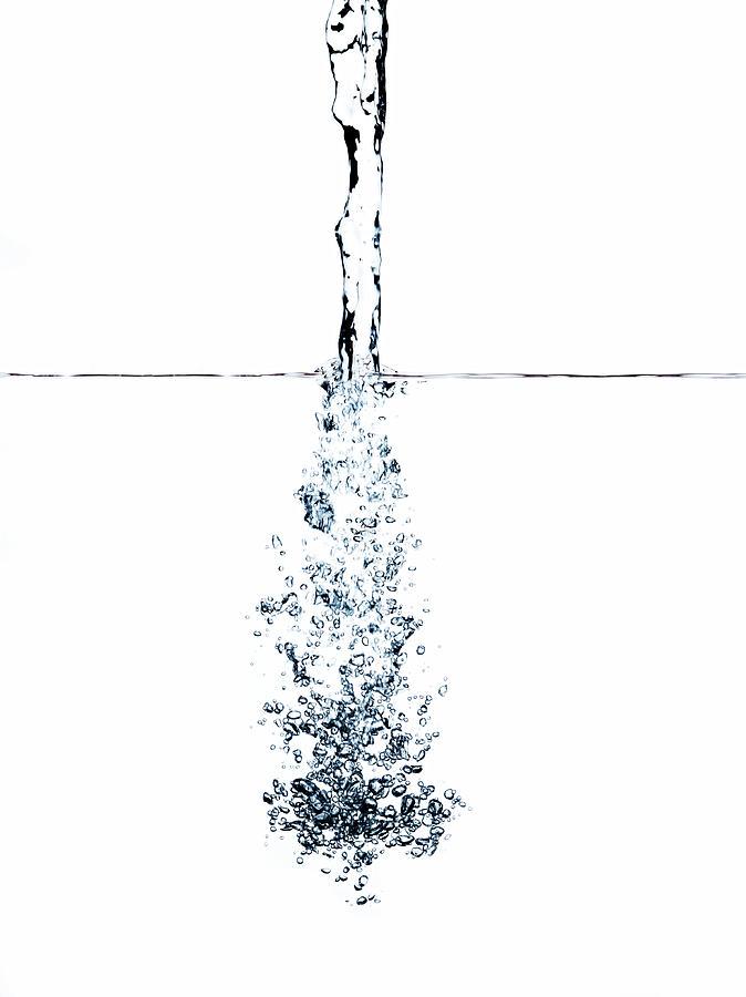 Splash Of Water Photograph by Ballyscanlon