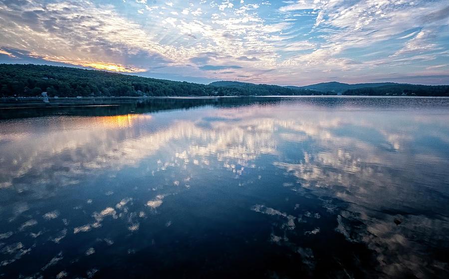 Spofford Lake Dawn by Tom Singleton