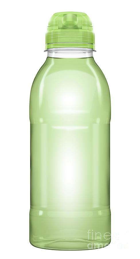Vitamin Digital Art - Sports Vitamin Drink Plastic Bottle by Allan Swart