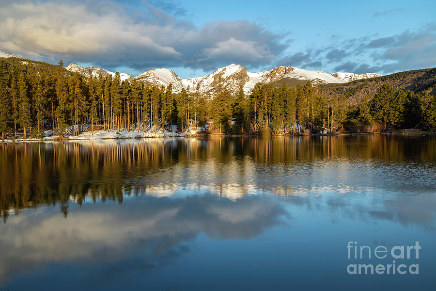 Sprague Lake Morning   by Ronda Kimbrow