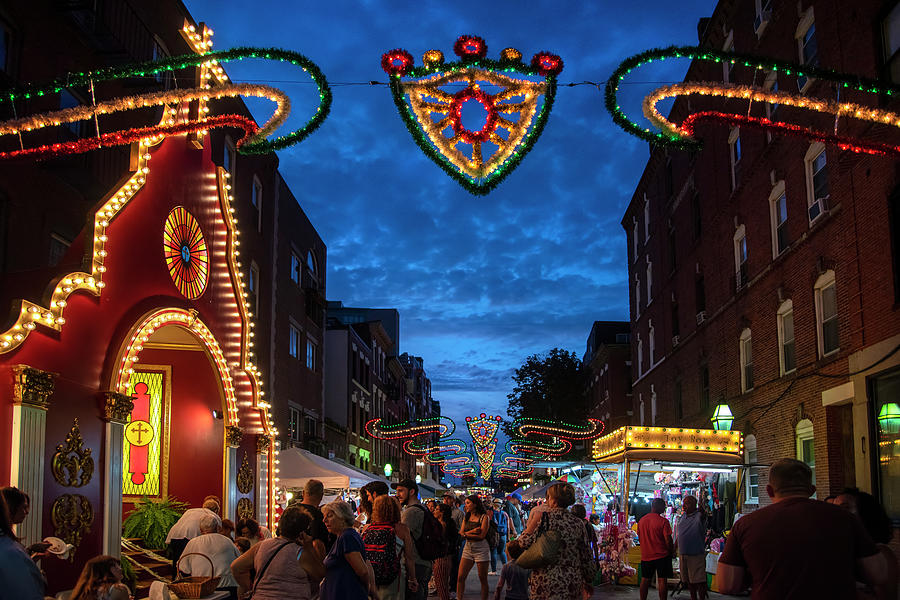 St. Anthony's Feast - Boston North End by Joann Vitali