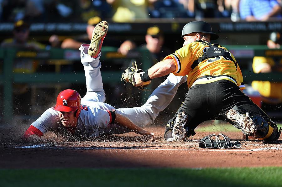 St. Louis Cardinals V Pittsburgh Pirates Photograph by Joe Sargent