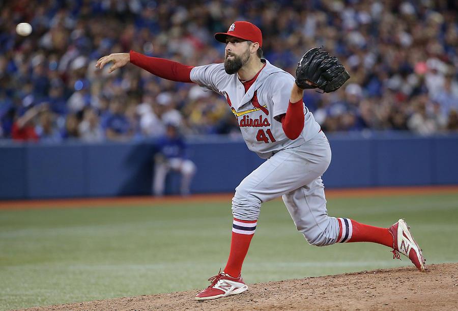 St Louis Cardinals V Toronto Blue Jays Photograph by Tom Szczerbowski