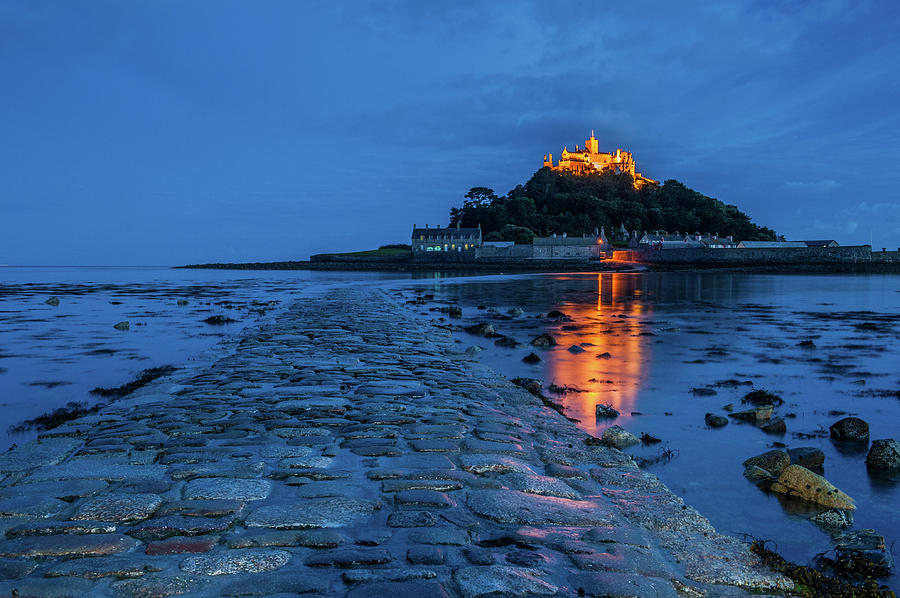 Britain Photograph - St Michaels Mount, Cornwall by David Ross