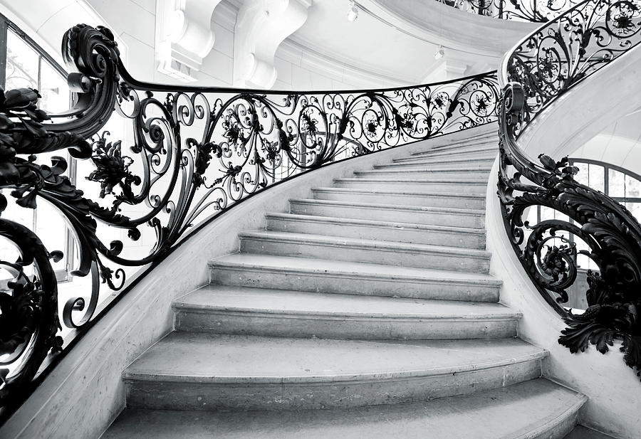 Staircase In Paris Photograph by Nikada