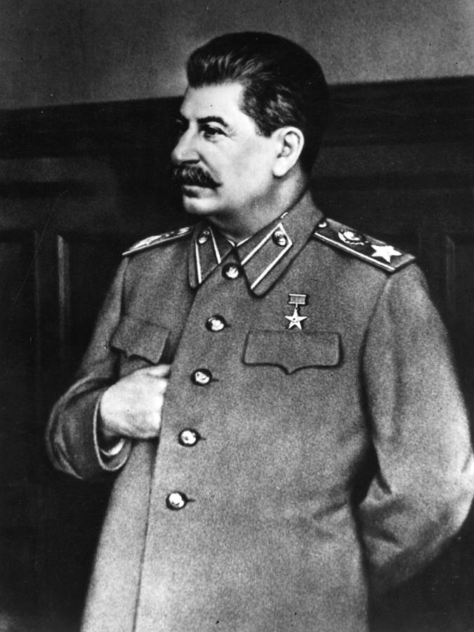 Stalin Photograph by Hulton Archive