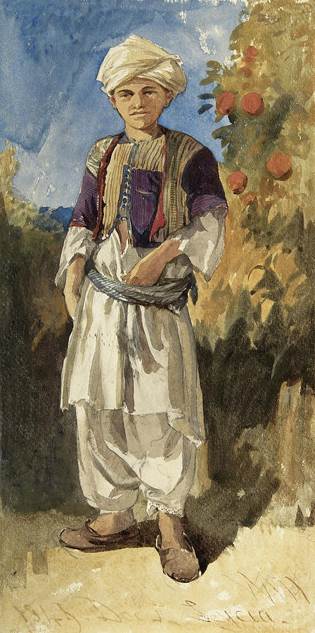 Standing Turkish Youth. by William James Muller