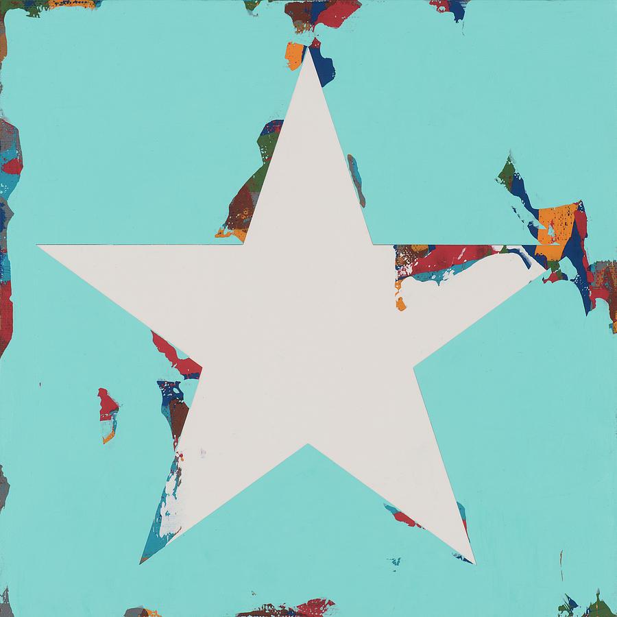 Star Painting - Star #8 by David Palmer