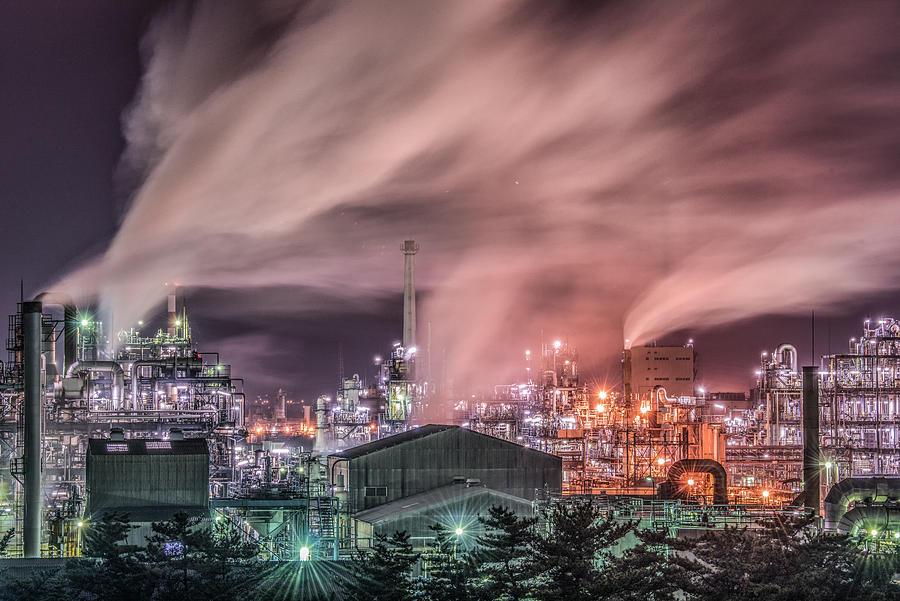 Industry Photograph - Steam by Kobayashi Tetsurou
