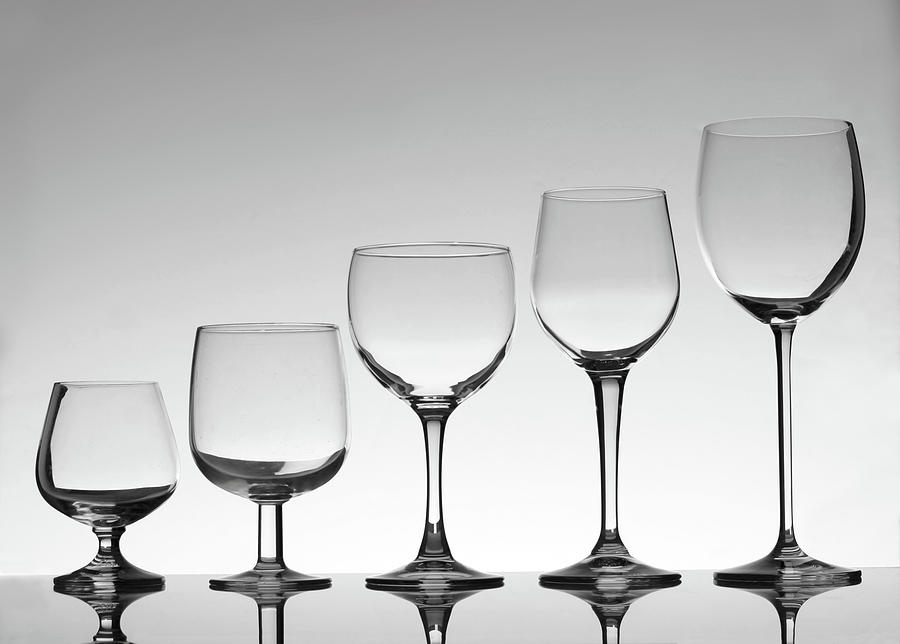 Stemware Photograph by Donald gruener