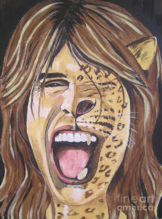 Steven Tyler Art by Jeepee Aero