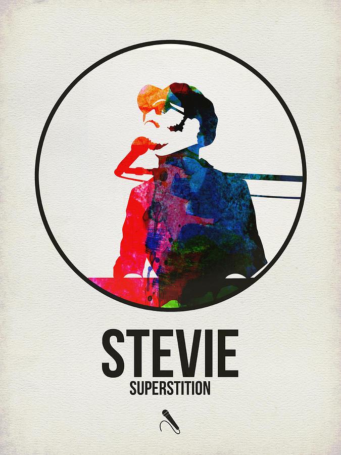 Stevie Wonder Digital Art - Stevie Wonder by Naxart Studio