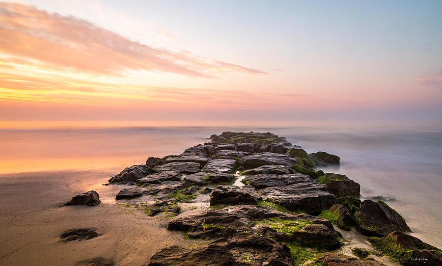 Stone Harbor Jetty by Charles Aitken