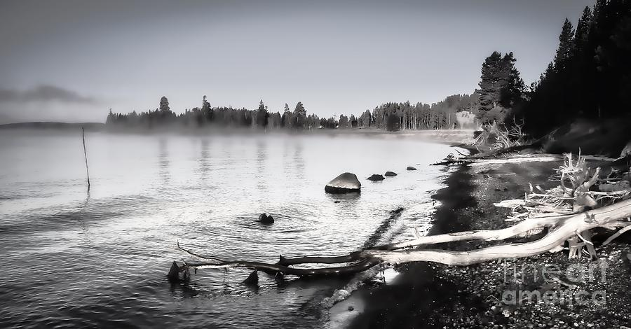 Yellowstone Photograph - Stones Throw Away by Phil Cappiali Jr