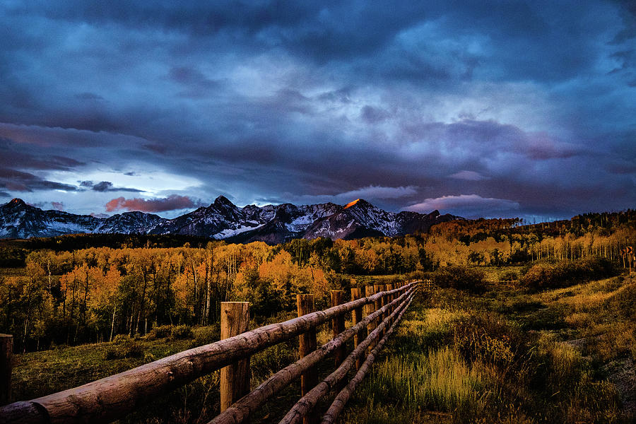 Storm Over Dallas Divide by Johnny Boyd