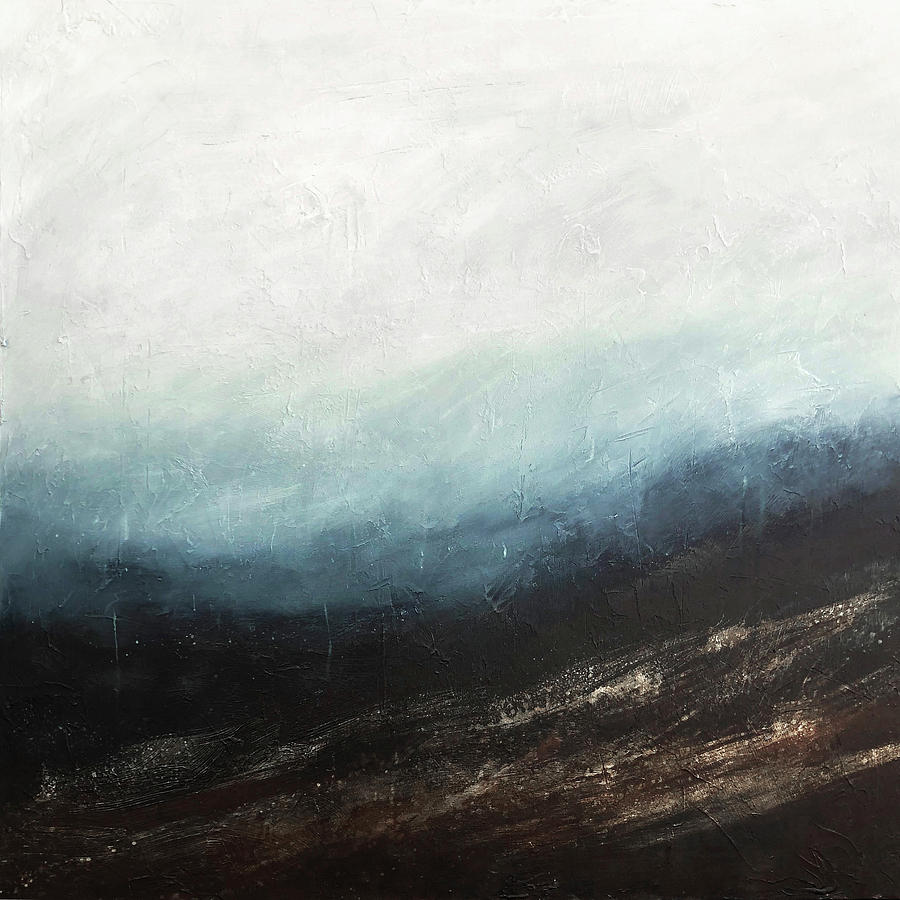 Storm Painting - Storm Warning by Filomena Booth